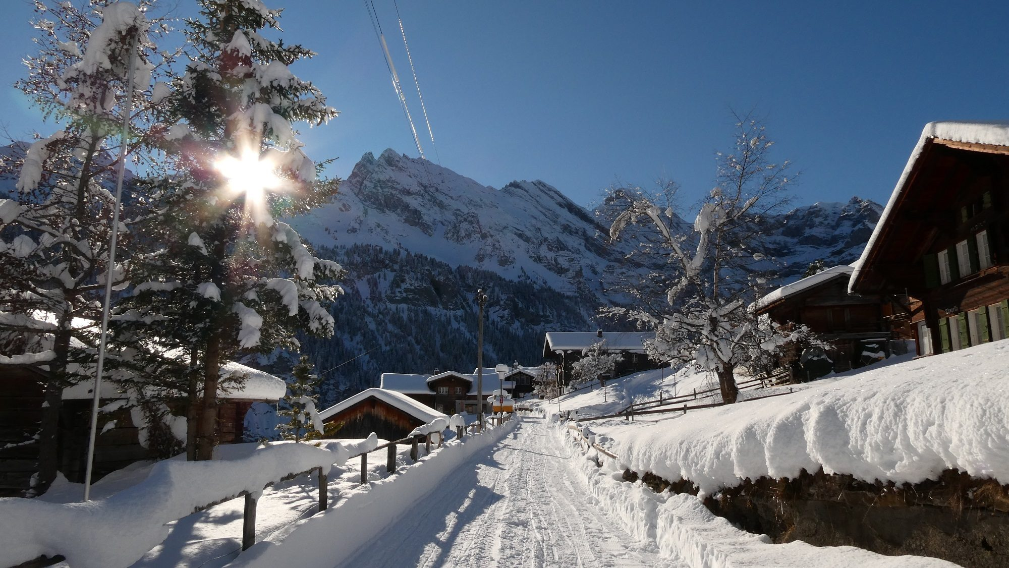 Gimmelwald Tourismus